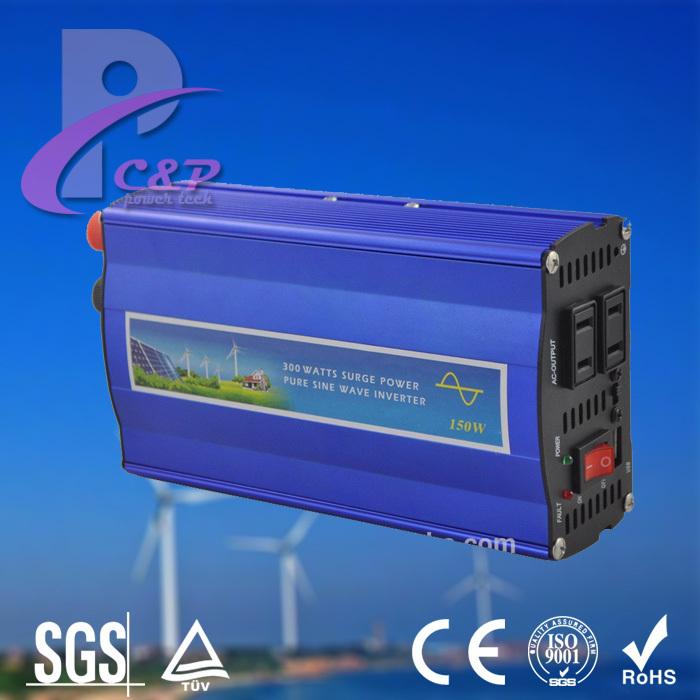 300W DC 12V to AC 220V 230V 240V Pure Sine Wave Inverter with 5V USB Charger, Off Grid Solar Wind Inverter(China (Mainland))