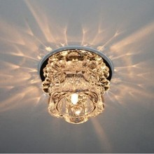 3w Led Ceiling Lights Crystal Modern Ceiling Lamp Light For Living Room Aisle Corridor Porch 24(China (Mainland))