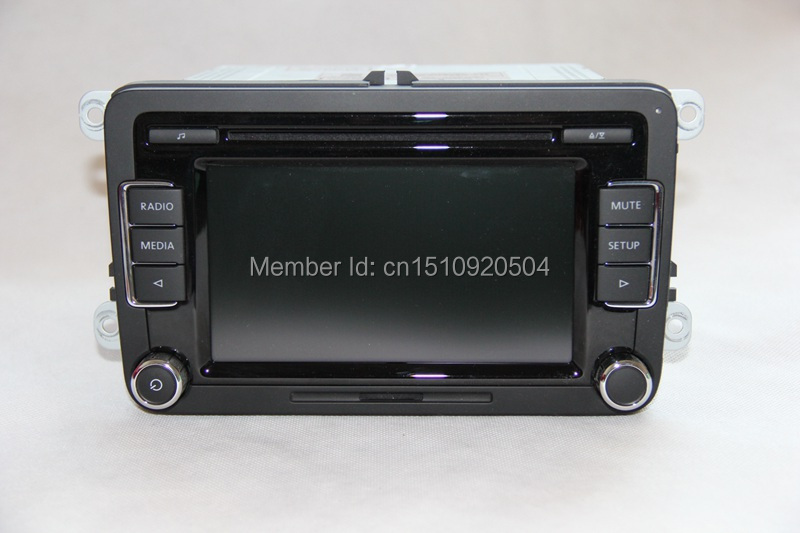 vw car radio stereo rcd510 original radio with code for vw golf 5 6 jetta cc tiguan passat. Black Bedroom Furniture Sets. Home Design Ideas