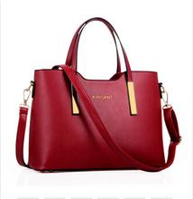 100% натуральная кожа женщин сумки Новинка 2017 сумки женские стереотипы модные сумки через плечо сумочка(China)