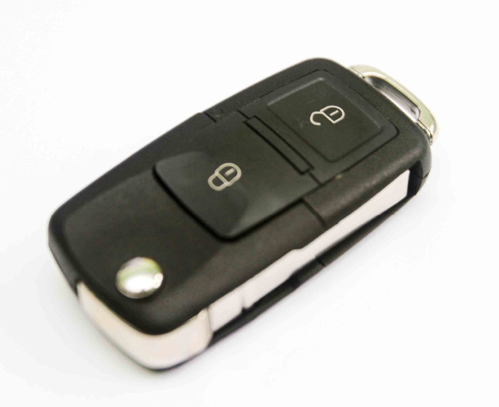 2 Button Remote Key with Blank Blade +ID48 CHIP 1J0 959 753 AG For Skoda VW VOLKSWAGEN Seat 434MHz(China (Mainland))