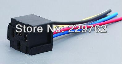 Car Automotive12V 5 PIN 40A Relay Socket Auto Relay holder MOQ 100 PCS Free Shipping <br><br>Aliexpress