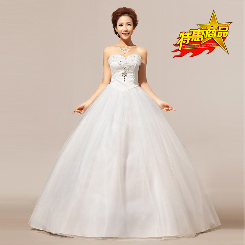Wedding Factory Direct: Factory Direct Sell Wedding Dress Strapless 2015 Crystal