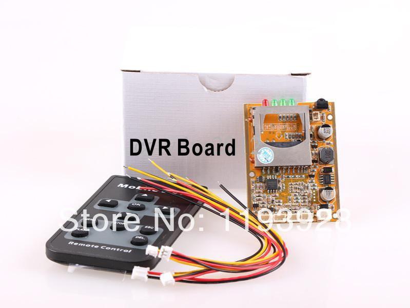 DHL Free Shipping 1CH Mini DVR Board(China (Mainland))