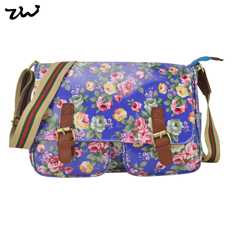 New Arrival PVC material Palace Floral Print Sweetheart Women Messenger Bags Women Handbag Wholesale and Retail QQ1772(China (Mainland))