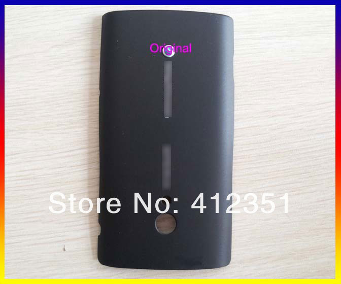 Black New Housing Cover case battery door For Sony Ericsson Xperia X10 Free Shipping(China (Mainland))