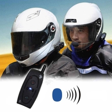 2016 Newest 120Km Motorcycle Helmet Bluetooth Intercom Headset Moto 2 Riders BT Interphone Stereo Speakers music/audio function
