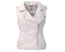 THOOO fashion woman's leather vest jacket coat lady motorcycle short slim leather coat L XL 2XL 3XL(China (Mainland))
