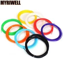 20pcs/set 100M Long 3D Printer Pen Filament ABS 1.75mm Plastic Rubber Consumables Material 3d pen filament