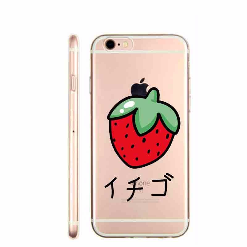 Romantic flower cactus fruit strawberry Mr Wonderful Coque Hard plastic Case For iphone 5 5S SE 6 6S 6Plus Phone Cover