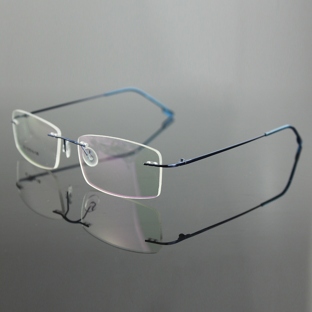 Aliexpress.com : Buy New lightest Mens rimless stainless ...