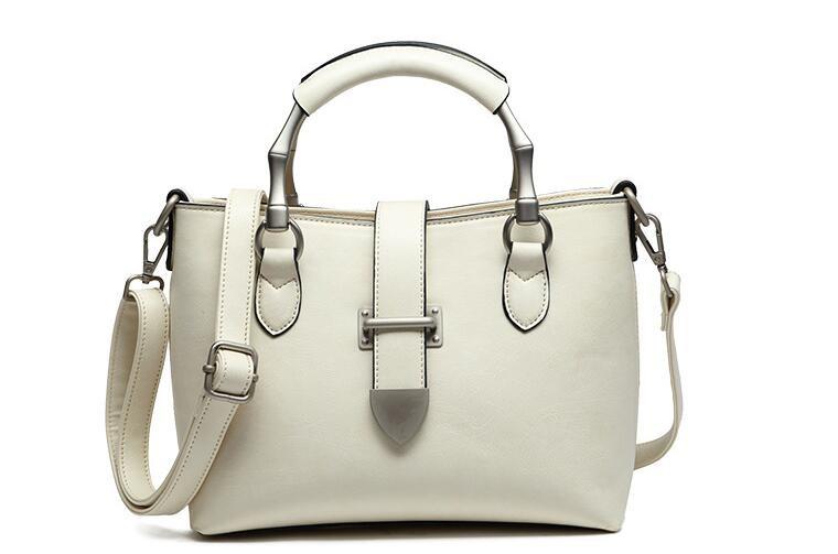 ซื้อ ผู้หญิงแฟชั่นกระเป๋าข้อความกระเป๋าวินเทจCrossbodyไหล่สไตล์ยุโรปกระเป๋าToteกระเป๋าสามสี