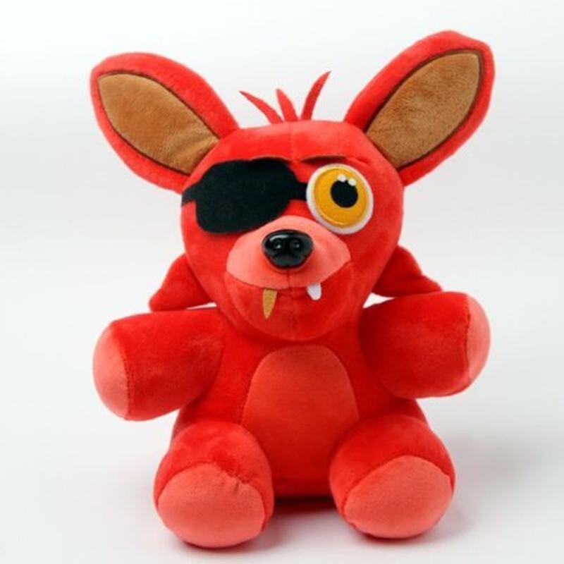 1Pcs FNAF Five 5 Nights at Freddy's Freddy Red Fox Plush Toy doll 10(China (Mainland))