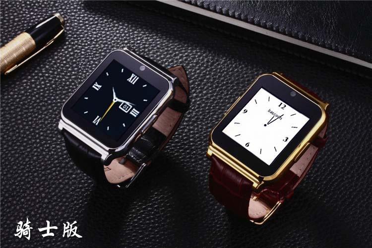 W90 Bluetooth Smart Watch Smartwatch Men Luxury Leather Business Wristwatch Knight Full View HD Screen For