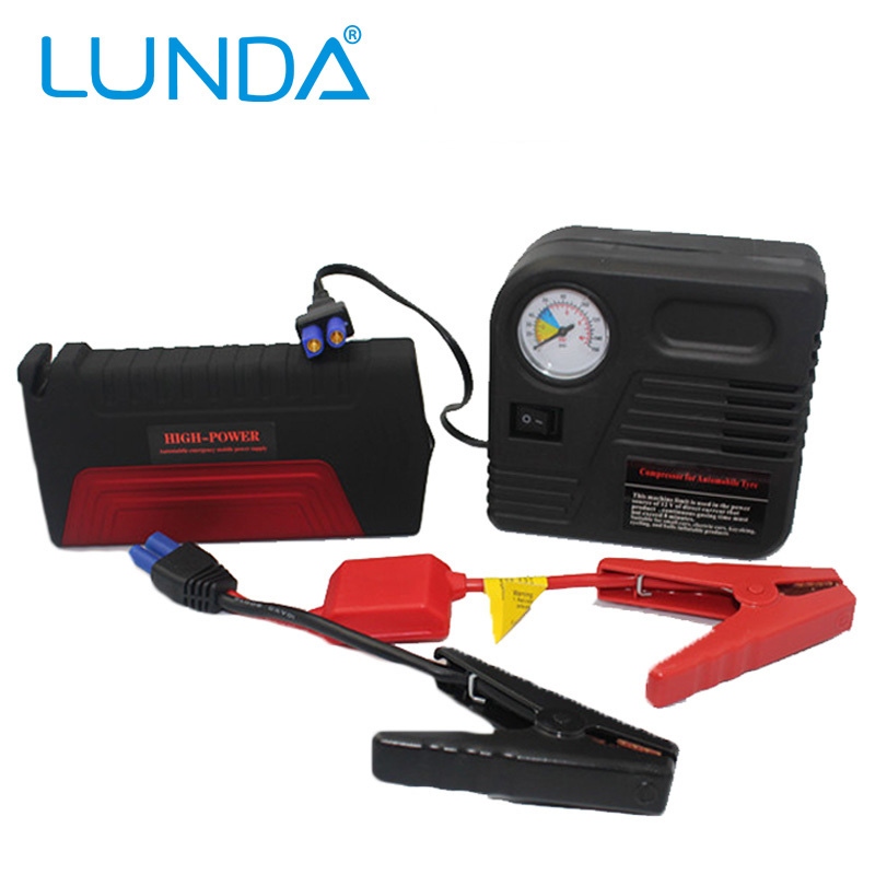 LUNDA Car jump starter High power capacity battery source pack charger vehicle engine booster emergency power bank(China (Mainland))