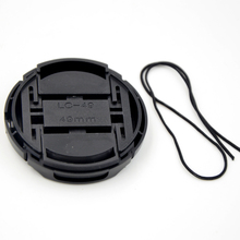 Camera Lens Cap Protection Cover 49mm With Anti-lost Rope For Canon Nikon Sony Olympus Pentax