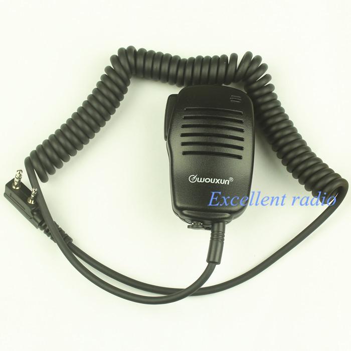 Genuine Original hand microphone walkie talkie Wouxun KG-UVD1P microphone in hand KG689/KG669/KG678(China (Mainland))