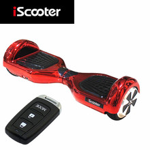New Arrival Chrome Scooter iScooter Hover board 2 Wheel Smart Balance Electric Scooter self Balancing Skateboard Led with remote(China (Mainland))