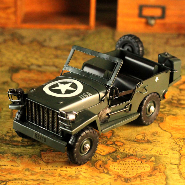 Gift humvees model collection metal car toy decoration