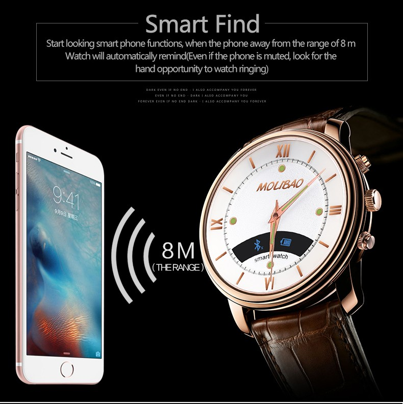 A7 Smart Watch Bluetooth 4.0 Waterproof Health Monitor Noctilucent Men Business Smartwatch for Android and IOS Reloj Inteligente