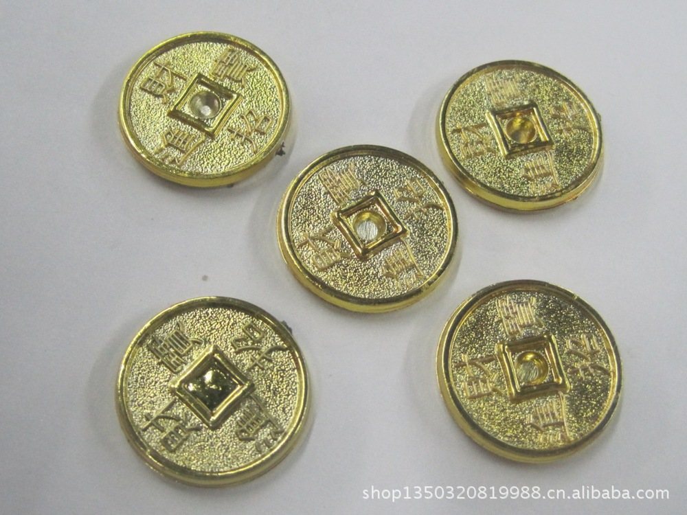 Low cost supply of plastic coins crafts plastic parts all kinds of coins M570