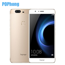 Original Huawei Honor V8 4GB RAM 32GB Dual Rear 12.0MP Camera 5.7 inch Mobile Phone Android 6.0 Kirin 950 Octa Core(China (Mainland))