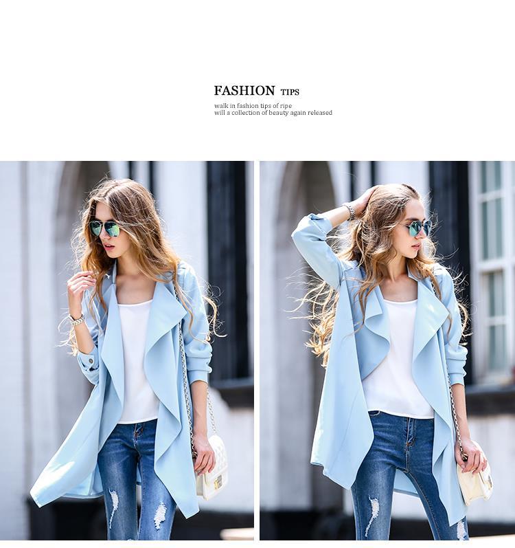 2015Hot осень и зима в европе и америке длинный кардиган пальто женский сплошной литературный стиль дамы плащ бесплатная доставка