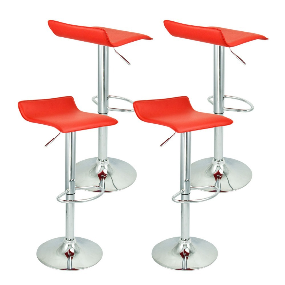 Tabouret rouge de bar maison design - Tabouret de bar design rouge ...