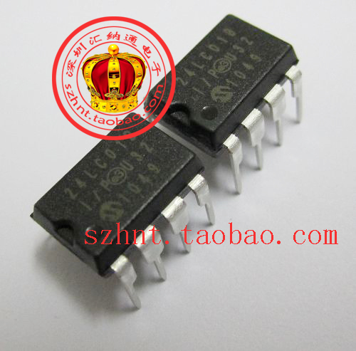 Double Crown store Hot MICROCHIP new original 24LC01B-I / P line --HNT(China (Mainland))