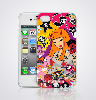 For iphone  4 4s cell phone case iphone4 4s lady series protective case
