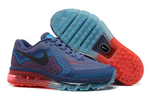 Newest Nike air max 2014 Men Sports Running Shoes  Athletic Men Shoes Free Shipping(China (Mainland))