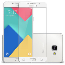 Buy A510/A710 Full Cover Screen Protectors Silk Printing Tempered Glass Samsung Galaxy A5 A7 2016 A510F A710F Protective Film for $1.83 in AliExpress store