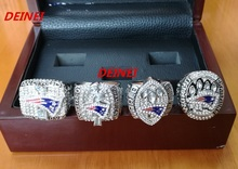 Free Shipping 2001 2003 2004 2014 New England Patriots Replica Super Bowl Championship Ring,Four together solid high quality(China (Mainland))
