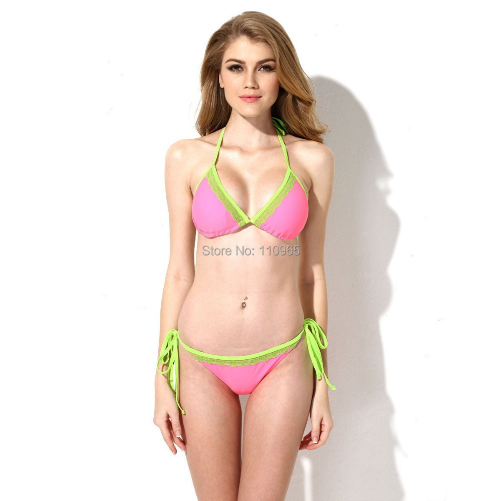 Bikini Brazilian Swimsuits 2016 New Lace Biquinis Top ...