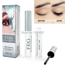 100% Original FEG eyelash enhancer serum Factory supply promotional price eyelash growth liquid free shipping