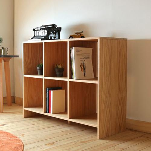 Japanese style wood furniture dodge scandinavian modern for Modern minimalist bookcase