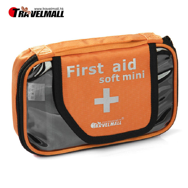 100pcs/lot Outdoor first aid bag portable waterproof household travel kits pharmaceuticals bag kit