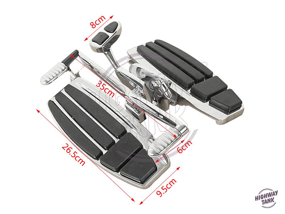 Motorcycle Driver Footboard Floorboard Moto Front Foot