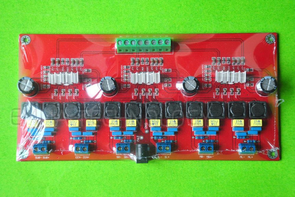 TPA3116 6 Channel Amplifier Board 50W x