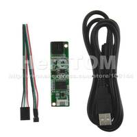 """4 Wire Resistive LCD Touch Screen Panel USB Controller Especially fr 7-19"""" panel"""