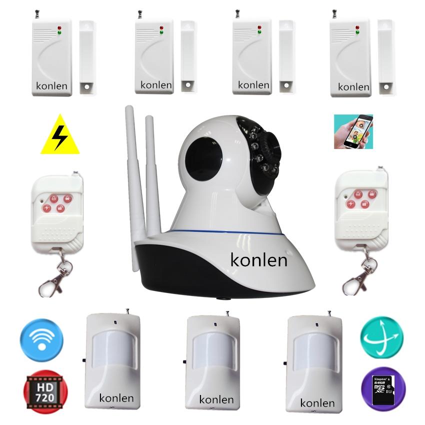 Buy wifi cctv hd ip camera intruder alarm for Buy house alarm system