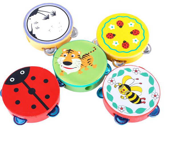 Details about Funny Light for Baby to Hand Clap Drum Musical Instrument Tambourine Toy(China (Mainland))