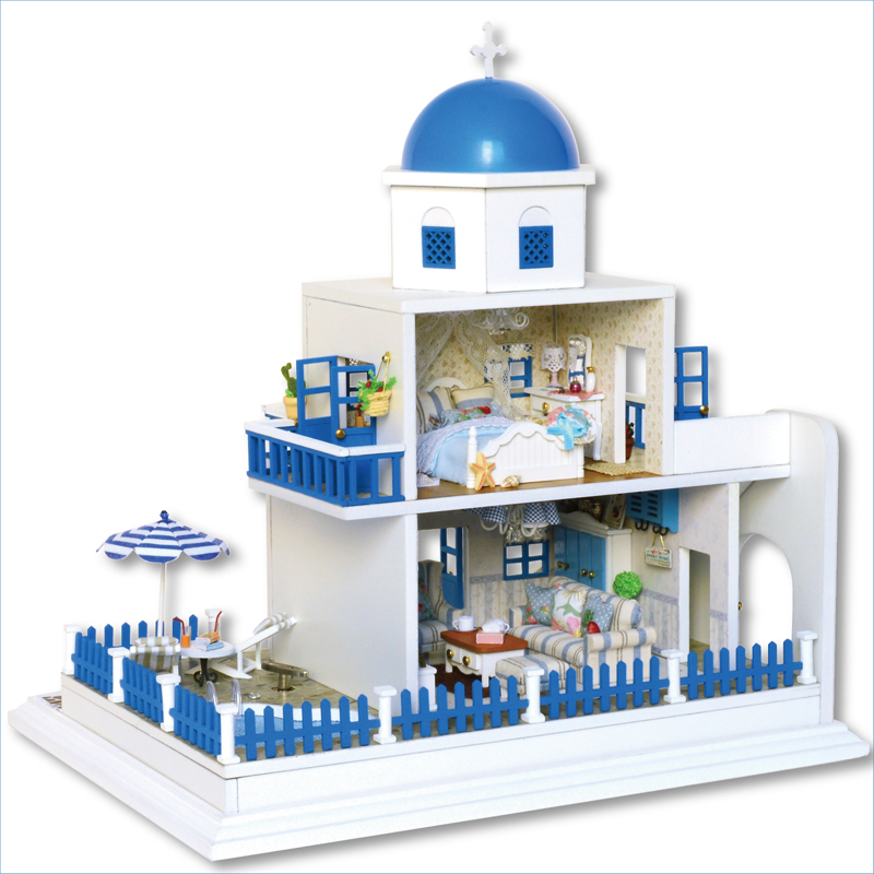 Home-Decoration-Crafts-DIY-Doll-House-Wooden-Doll-Houses ...