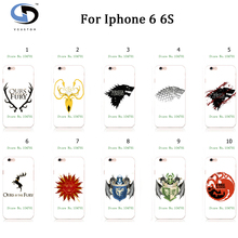 """10pcs/lot Game Thrones Painting Mobile Phone Cases For Iphone 6 6S 4.7"""" Housing Fundas Case Cover"""