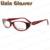 Fashion good quality with metal decoration red color clean lens Glasses Frame/Eyeglasses/Optical Frame/Eyewear SQ-0054