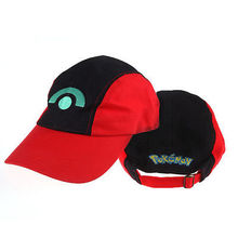 New Adorable Pokemon Ash Ketchum1pcs Fashionable Multi-colors Super Mario Bros Cosplay Hat Cap Baseball Costume Gift New
