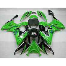 Buy Professional factory ABS motorcycle fairing Kawasaki ZX 10R 2008 2009 2010 green black EIF road Fairings Ninja ZX10R 08-10 for $283.92 in AliExpress store