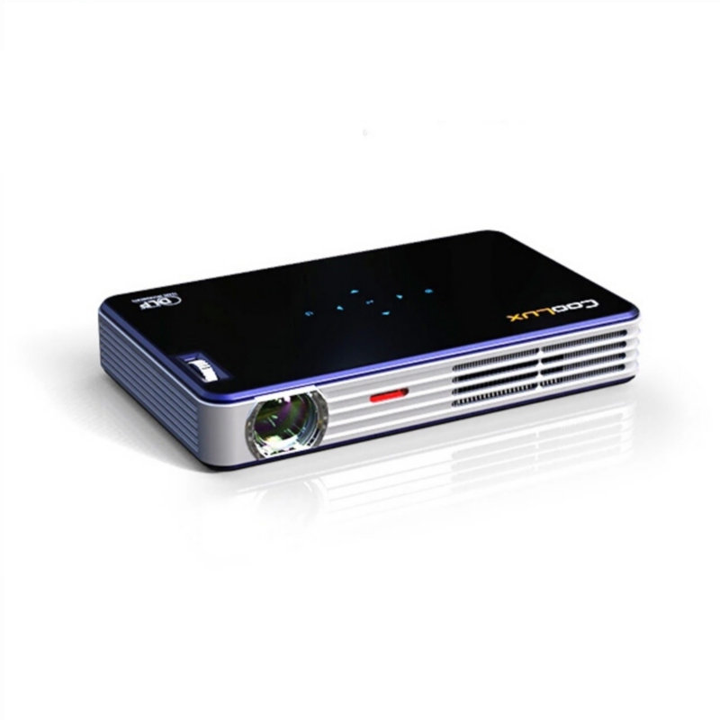 Amazing Quality ! Coolux X3S(New) Portable Full HD LED 1080P 3D Home Theater Multimedia Video Game Projector,Built-in Battery(China (Mainland))
