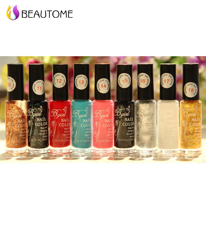 Stamp polish 1 Bottle/LOT Nail Polish & stamp polish nail art pen 20 colors Optional 10ml More engaging 4 Seasons !(China (Mainland))