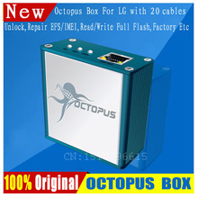 Free shipping+The Latest 100% Original Octopus box for LG Unlock &Repair Flash Tool Mobile Phone(package with 20 cables)(China (Mainland))